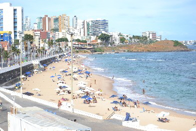 Salvador City Tour Barra beach