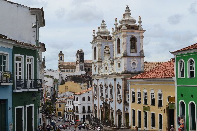 Salvador City Tour historical center